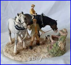 1994 Border Fine Arts You Can Lead A Horse To Water Bfa202 Limited Edition