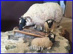 BORDER FINE ARTS, EARLY LAMBS LATE SNOW 1988 With Box & Cert RARE