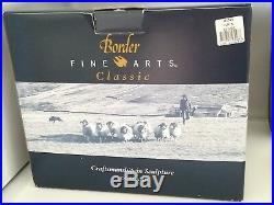 BORDER FINE ARTS, KICK START, Exclusive Society Piece 2000/01, Very Rare, MIB