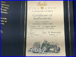 BORDER FINE ARTS TURNING WITH CARE LIMITED EDITION No 9 OF 1750 HAS COA