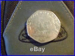 Beatrix Potter 50p Coin Mrs Tiggy Winkle 2016