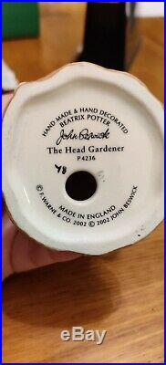 Beswick Head Gardener BP11a. Beatrix Potter Figurine