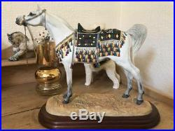 Border Fine Arts A2016 Arabian Stallion Limited Edition-Certificate