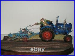 Border Fine Arts AT THE VINTAGE NEW IN BOX Fordson E27N Tractor