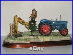 Border Fine Arts A DAYS WORK DITCHING NEW IN BOX Fordson major