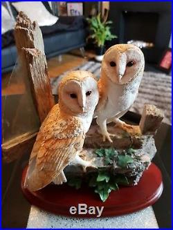 Border Fine Arts A Room With A Veiw Owls Sculpture No 103 of 500 Pieces