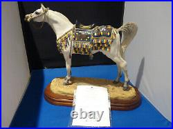Border Fine Arts, Arab Stallion, limited with certificate excellent No. 288/950