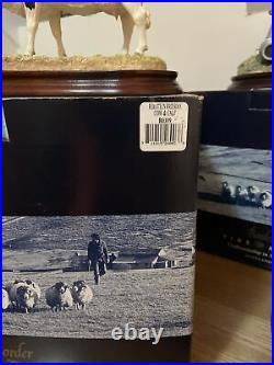 Border Fine Arts BO309 Dairy Cow And Calf Figure Boxed