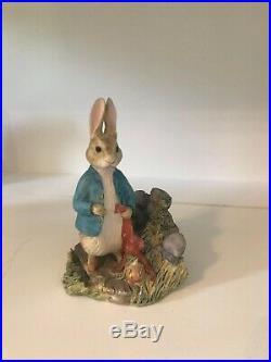 Border Fine Arts Beatrix Potter Figurines Peter Rabbit Collection