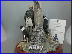 Border Fine Arts Flash And Lightning Figurine B0668 Border Collie Dogs + Cert
