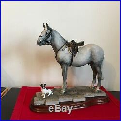 Border Fine Arts Horse FAITHFUL FRIENDS Anne Wall superb