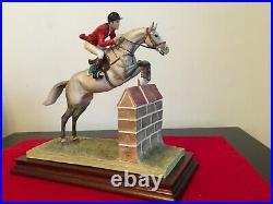 Border Fine Arts Horse SHOWJUMPING B0366 superb