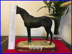 Border Fine Arts Horse, THOROUGHBRED STALLION B0241A Anne Wall