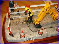 Border Fine Arts JCB Essential Repairs. Ltd Ed 1491/1750. New With Certificate