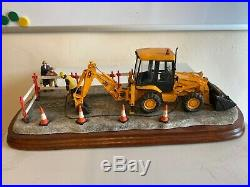 Border Fine Arts JCB Essential Repairs. Ltd Ed 729/1750. New With Certificate
