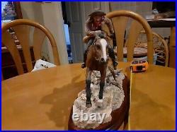 Border Fine Arts Limited Edition Pony Express- No. 50 of 350
