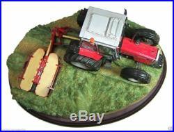 Border Fine Arts Massey Ferguson 390 + MF 70 Mower
