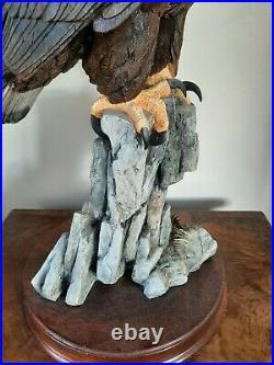 Border Fine Arts Massive Solid Resin Eagle 44cm Tall Holy Grail Of BFA 2000