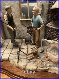 Border Fine Arts NEW SHOES FOR DOLLY (Blacksmith Scene) Model No JH29