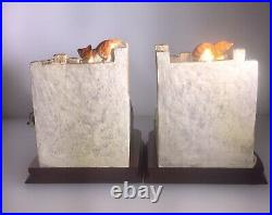 Border Fine Arts Pair Bookends Not A Moments Peace Ltd Ed New Boxed