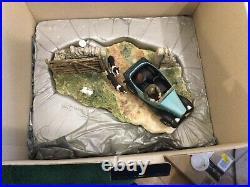Border Fine Arts The Chase #b0444 Ray Ayres Mint In Original Box Rare