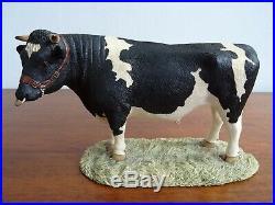 Border Fine Arts Vintage 1993 Holstein Friesian 163 Dairy Bull P&P Inc