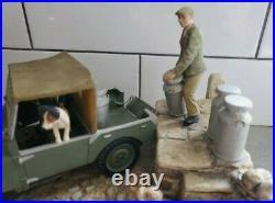 Border Fine Arts large model putting out the milk land-rover AF