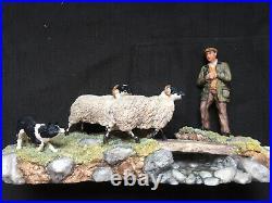Border Fine Arts steady lad Steady James herriot Ltd Edition