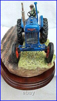 Border Fine Arts tractor,'AT THE VINTAGE'B0517, New in original boxes with Cert
