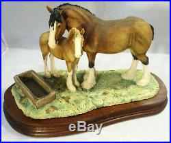 Border fine arts Horse and foal Spring Pastures JH32 Ayres