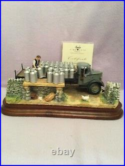 Border fine arts MORNING COLLECTION. Bedford Milk Lorry BRAND NEW