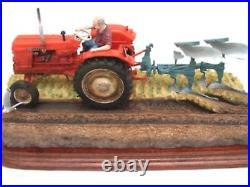 Border fine arts REVERSIBLE PLOUGHING (Nuffield4/65 Diesel Tractor) BRAMD NEW