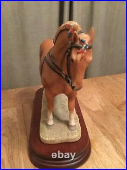 Border fine arts Suffolk punch ltd edition of 350 perfect with certificate no bo