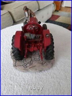 Border fine arts tractor B0541. Kick start