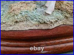 Large Border Fine Arts Limited Edition Sculpture Warm Work On A Cold Day
