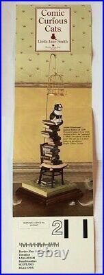 Linda Jane Smith Comic & Curious Cat WHODUNNIT 0516/1250 Border Fine Arts