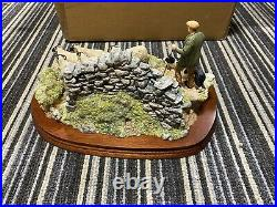 New Border Fine Arts The Crossing sheep limited ed