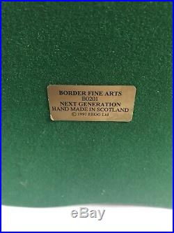 Rare Border Fine Arts B0210 Next Generation Horse In Stable Foul Made Scotland