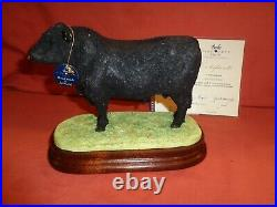 Rare Border Fine Arts BFA Welsh Black Bull Limited Ed B0999