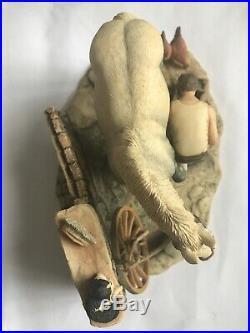 Rare Border Fine Arts Grey JH94b No Foot No Oss Blacksmith James Harriot Hand