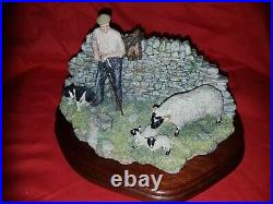 Rare Border Fine Arts Safe Delivery JH96 limited Edition By Ray Ayres