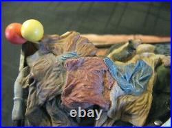Rare Border Fine Arts Scotland Rag, Bone Any Old Iron By Ray Ares, Ltd Edt