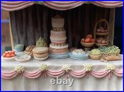 Rare Brambly Hedge Border Fine Arts Wedding Table And Canopy BH17