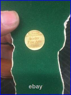SCHMID SOOIE BORDER FINE ARTS Lowell Davis Limited Edition 137/1500