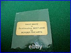 Scarce Border Fine Arts Sculpture by David Geenty'Full Cry' Ltd Edition 300