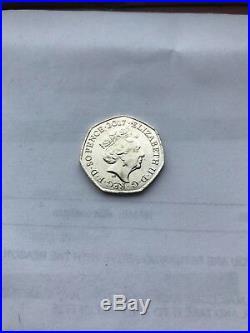 Tom Kitten Rare 50p Coin 2017 Beatrix Potter Coin
